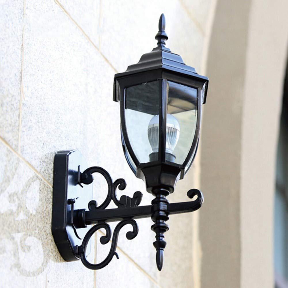 economico Lampada da parete per esterni impermeabile e antipioggia nera nera nera adatta per corridoio balcone giardino XCBD  rivenditore di fitness