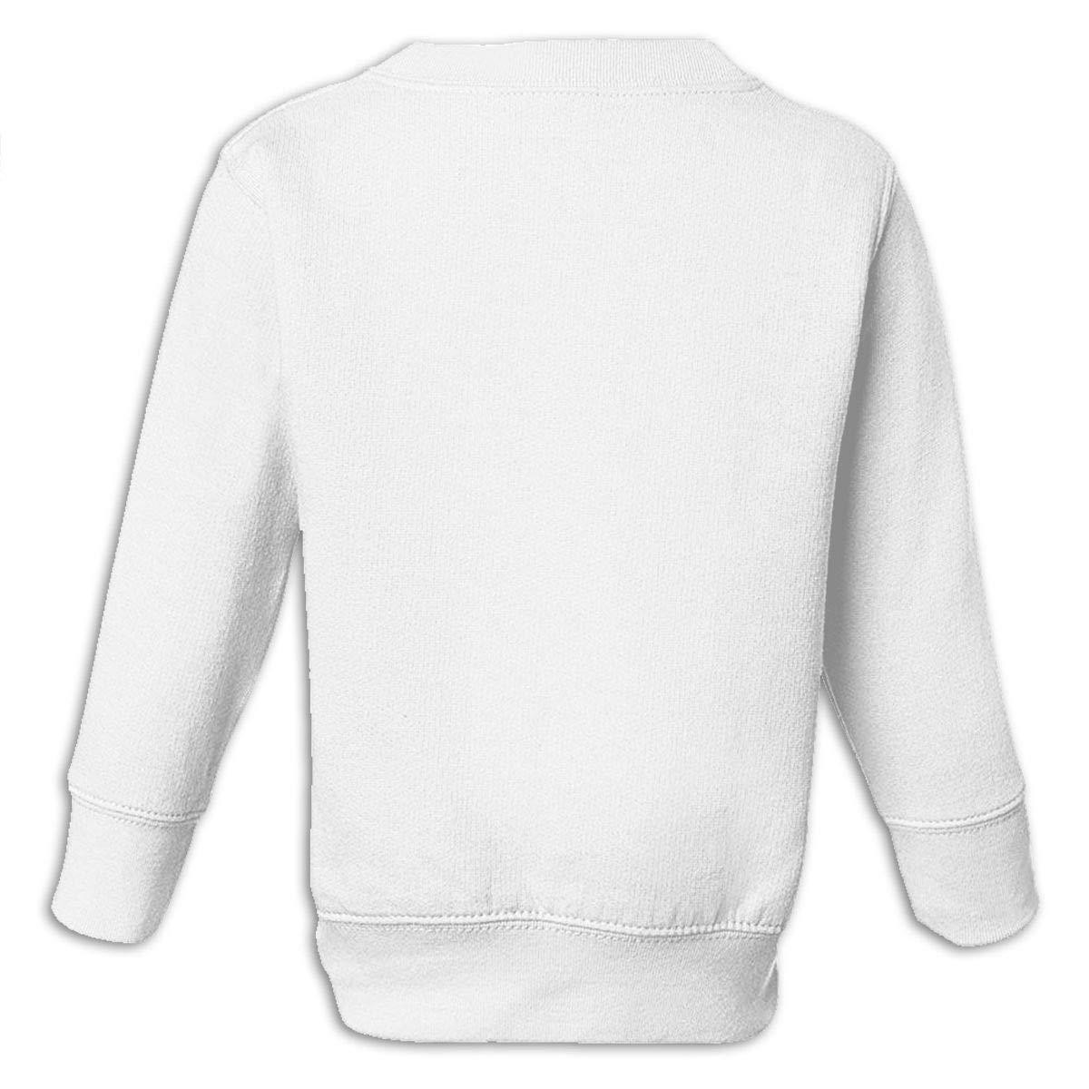 GHYNJUM Monkey Astronaut Juvenile Unisex Cotton Long Sleeve Round Neck Sweatshirt