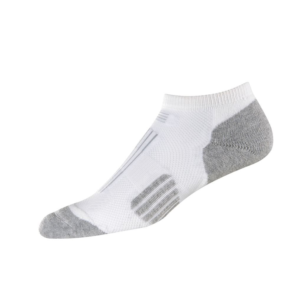 Footjoy Techsof Sport Cut Socks White 1 Pair