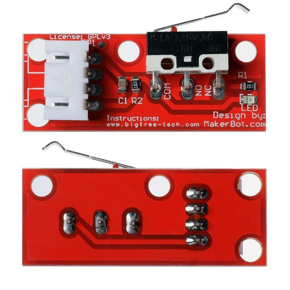 6pcs Endstop Limit Mechanical End Stop Switch for CNC 3D Printer RAMPS U4X6 L2C0