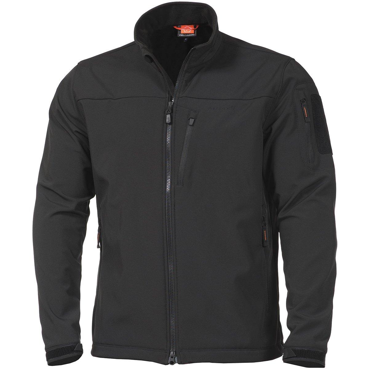 7d9ecde910a526 Pentagon Reiner 2.0 Men s Softshell Jacket Black at Amazon Men s Clothing  store