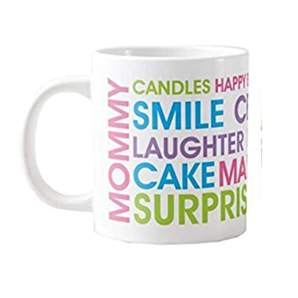 Buy Yaya Cafe Happy Birthday Gifts For Mom Surprise Birthday Mug For Mother Coaster Combo Set Of 2 Online At Low Prices In India Amazon In