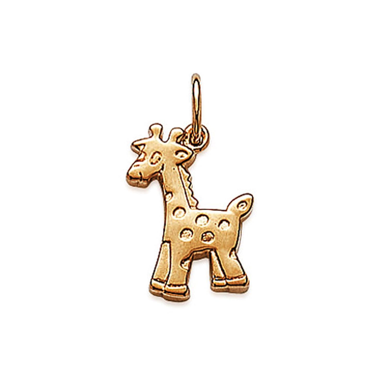 Pendentif Girafe Plaqué Or 18 carats - Neuf BigBangBijoux 2832300s