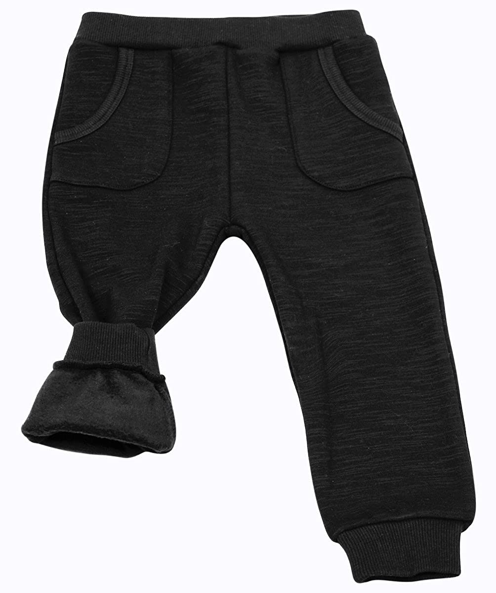 JAN /& JUL Warm Thick Unisex Baby Toddler Kids Fleece-Lined Winter Leggings//Joggers