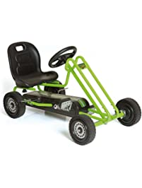 Hauck Lightning - Pedal Go Kart | Pedal Car | Ride On Toys For Boys & Girls With Ergonomic Adjustable Seat & Sharp...