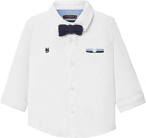 Mayoral, Camisa para bebé niño - 2129, Blanco: Amazon.es ...