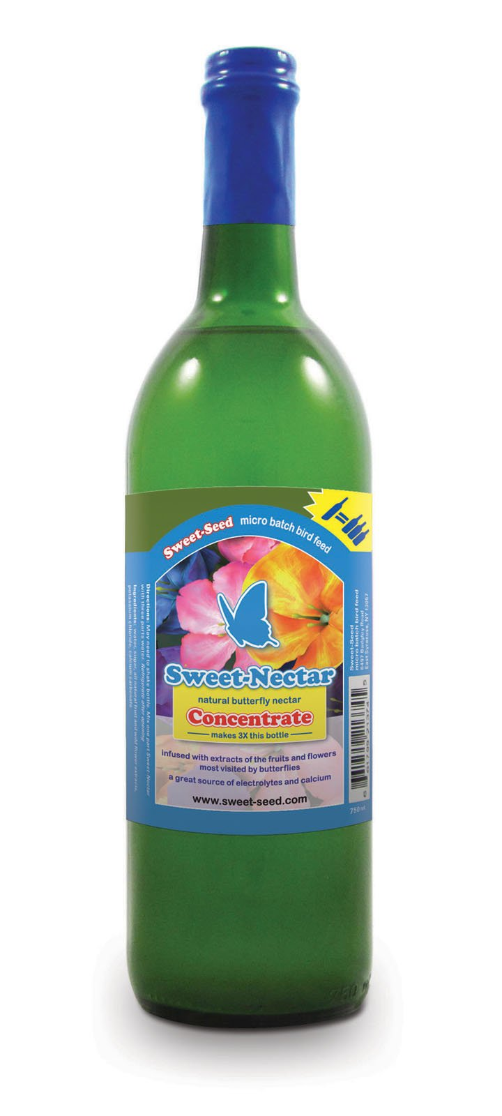 Sweet-Nectar Butterfly Food: All-natural & Dye Free Premium Butterfly Nectar Concentrate