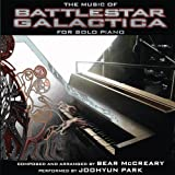 Music Of BATTLESTAR GALACTICA for Solo Piano Soundtrack Edition by Bear McCreary, Joohyun Park, Melanie Henley Heyn (2011) Audio CD