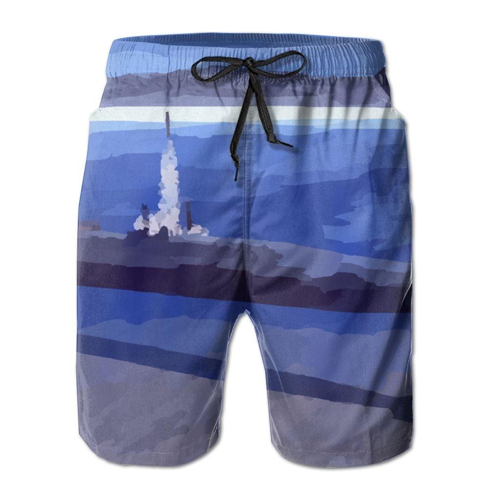 Cjhxqt Submarine Mens Boardshorts Not Shrink Gym Athletic Shorts Swim Trunks