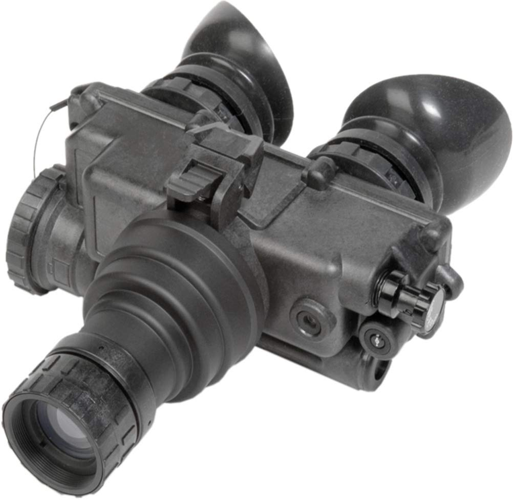 PRG Defense 12PV7122253031 Model PVS-7 NL3 Night Vision Goggles Gen 2+''Level 3'', 1x Magnification, 27 mm Lens System, 40° FOV, 0.2m to Infinity Focus Range, Diopter Adjustment -6 to +2 dpt by PRG Defense