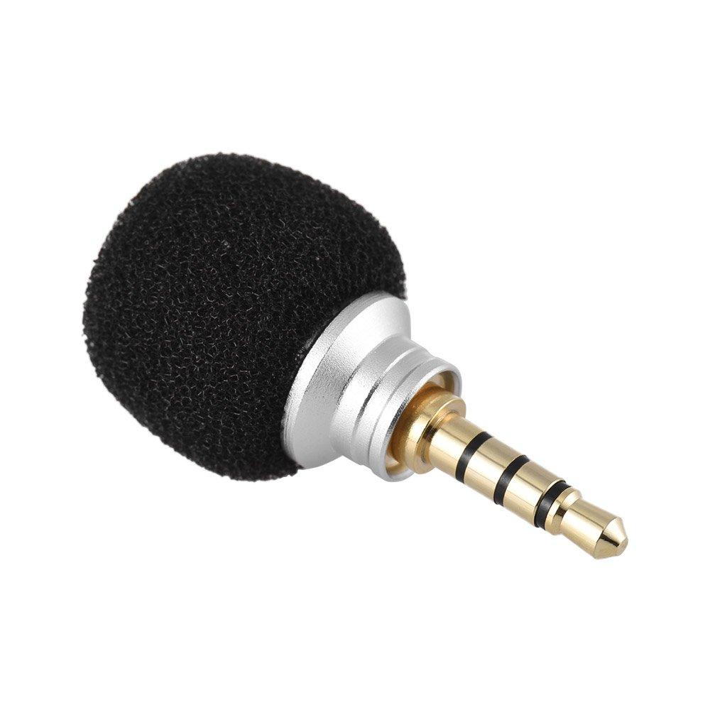 Andoer Ey 610a del telefono cellulare smartphone Mini Omni-directional Mic Microfono per registratore per ipad apple iphone56S 6Plus per Samsung Huawei
