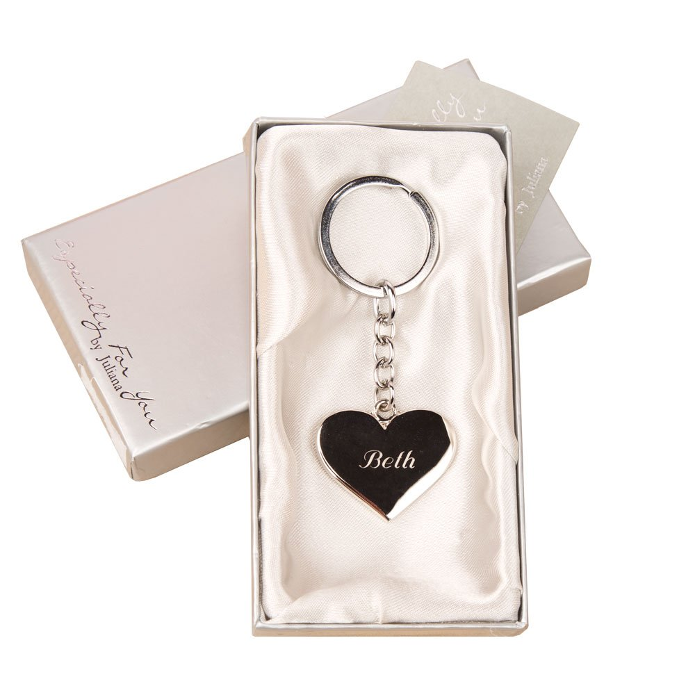 Personalised Silver Heart Key Ring Cousin Special Christmas Gift Birthday Best Amazoncouk