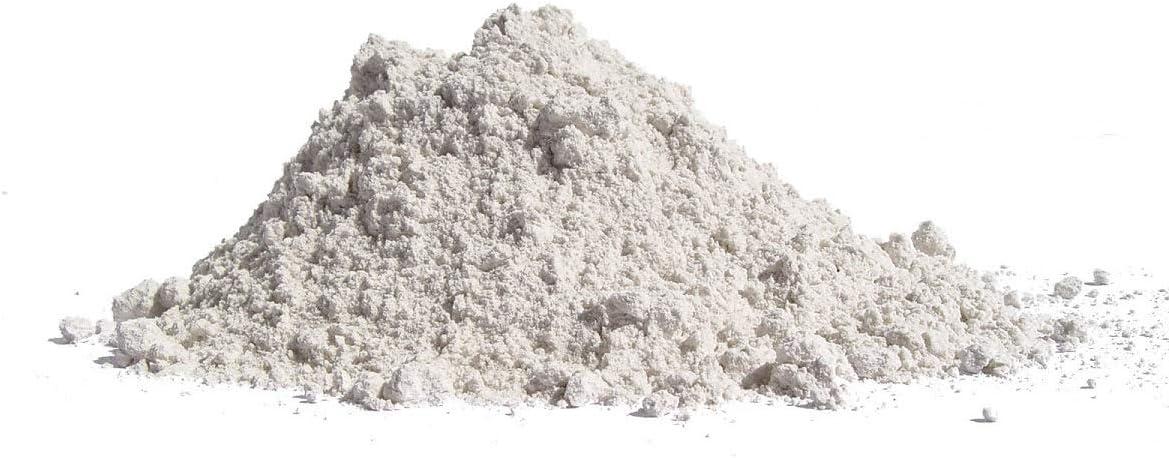 Carbonato de calcio impalpable muy fino - relleno inerte para resina y tizas - blanco meudon - 3 kg - 0 - 100 micras - polvo de mármol caco3 útil para pH