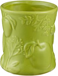 WoodWick Hourglass Apple Basket Candle, 8 x 8.8 x 9.3 cm, Green