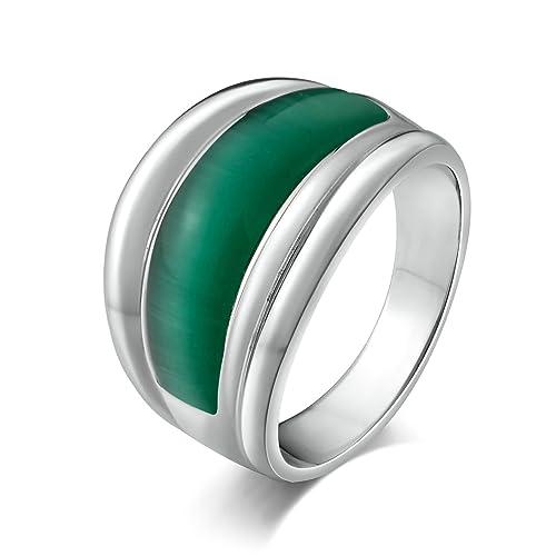 Amazon.com: Aooaz joyas anillo de acero inoxidable para ...