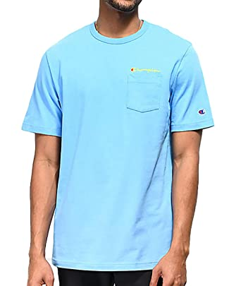 4e283689 Image Unavailable. Image not available for. Color: Champion Life Men's  Heritage Pocket T-Shirt ...