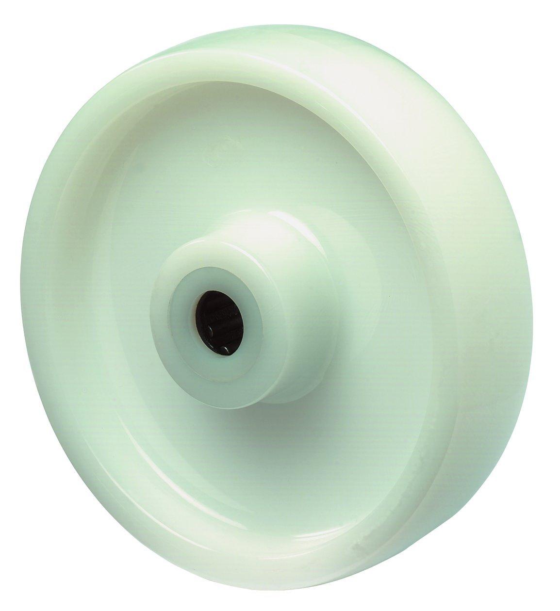 BS Plastic Wheel Roller Bearings Skateboard Wheel 150mm White b10.150