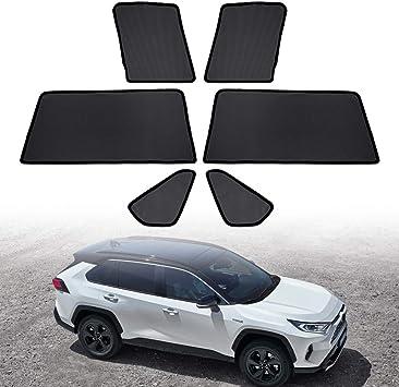 Custom Fit Automotive Reflective Windshield Sunshade for 2019 2020 Toyota RAV4 XLE XLE Premium Hybrid