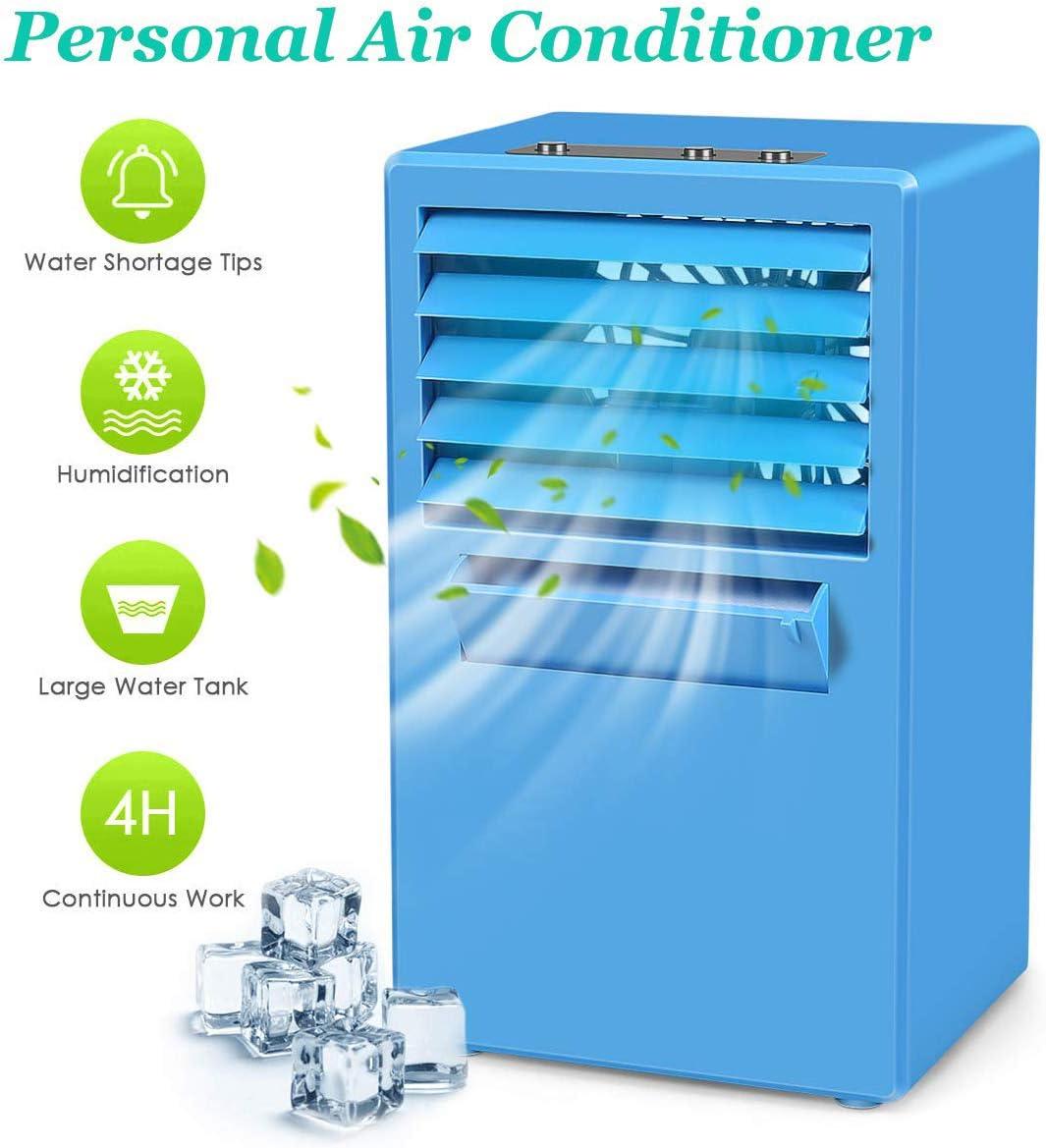 Enfriador de Aire, Acondicionado Portátil Climatizador Mini ...