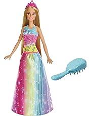 Barbie Dreamtopia Rainbow Cove Brush `n Sparkle Princess Doll