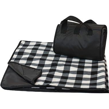 CozyCoverz Outdoor Rainproof & Windproof Stadium Blanket/Picnic Blanket 50  x 60