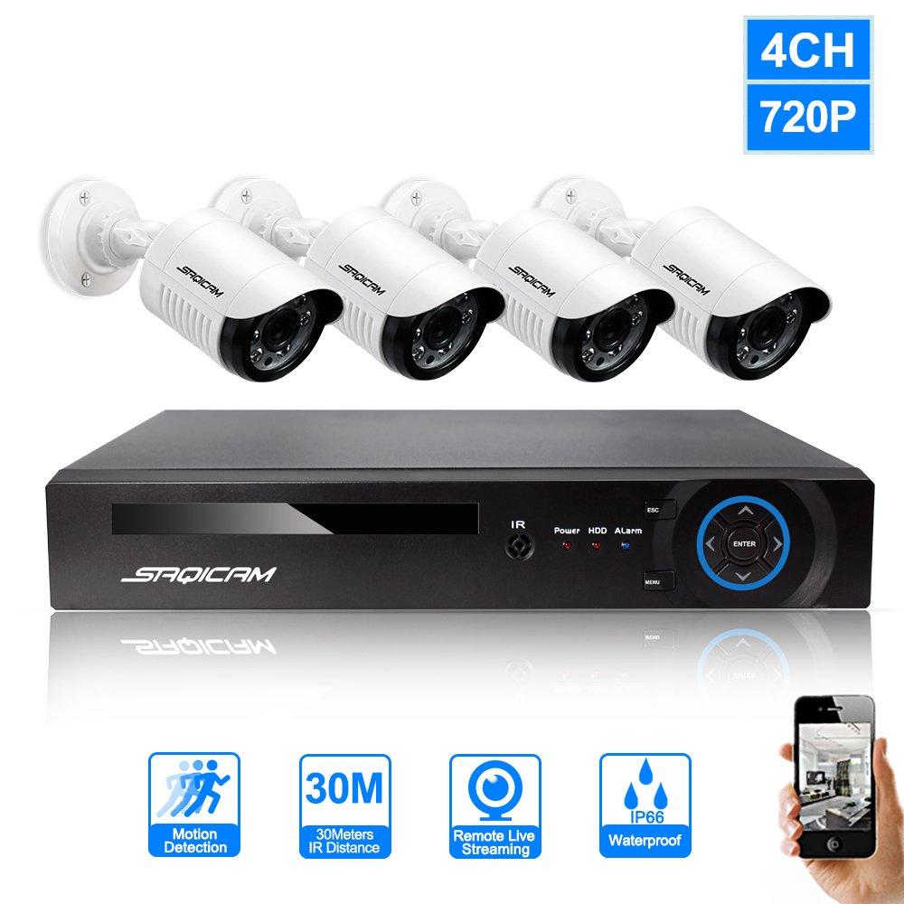 最も  SAQICAM 4Ch Ahd 4Ch 720P Cctvセキュリティシステム1080N Ahd Dvrレコーダー1.0Mp SAQICAM 720Pナイトビジョン屋外耐候性監視カメラ B07CZ6B4P4, ニュウグン:5e044949 --- martinemoeykens-com.access.secure-ssl-servers.info