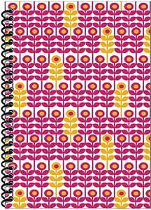 Rock Paper Spiral Notebook, Flowers (RP702)