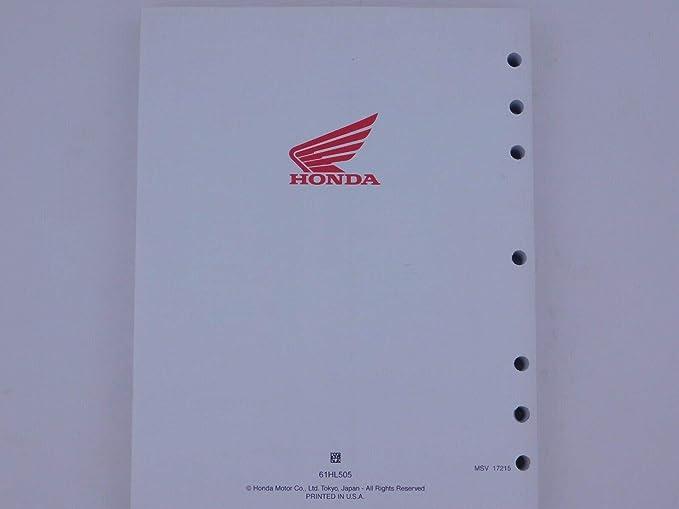 Honda 2015-2020 Pioneer 500 SXS500 OEM Repair Shop Service Manual ...