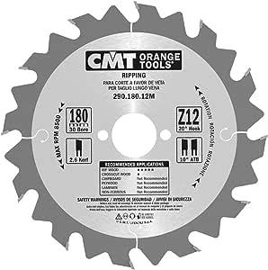 CMT Orange Tools 290,180.12m-sega Circular 180x 2.6x 30Z 12Atb 20Degrees