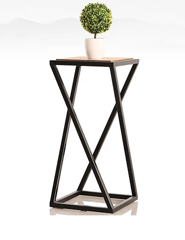 LB huajia ZHANWEI Blumenregal Eisen Bodenart Blumentopf Regal Kontinentales Interieur Im Freien Bonsai-Regale (größe : S)