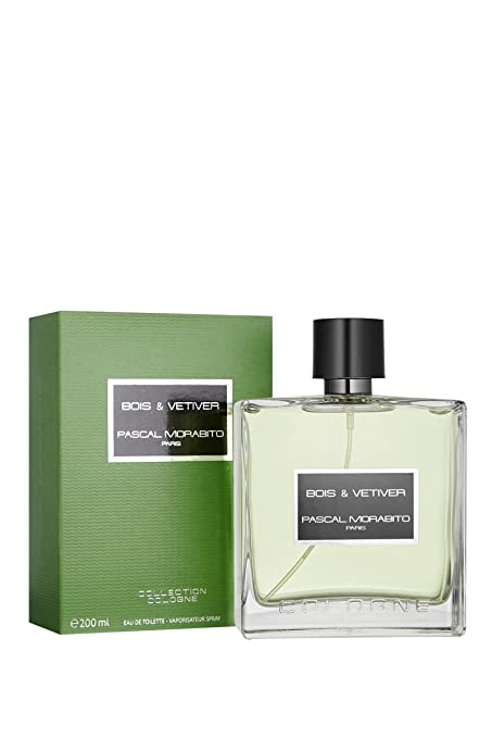 Pascal Morabito madera & VETIVER agua de baño 200 ML vaporizador Colonia COLLECTION
