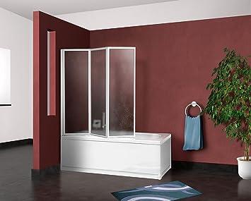 Box parete vasca doccia sopravasca cm pannello pieghevole
