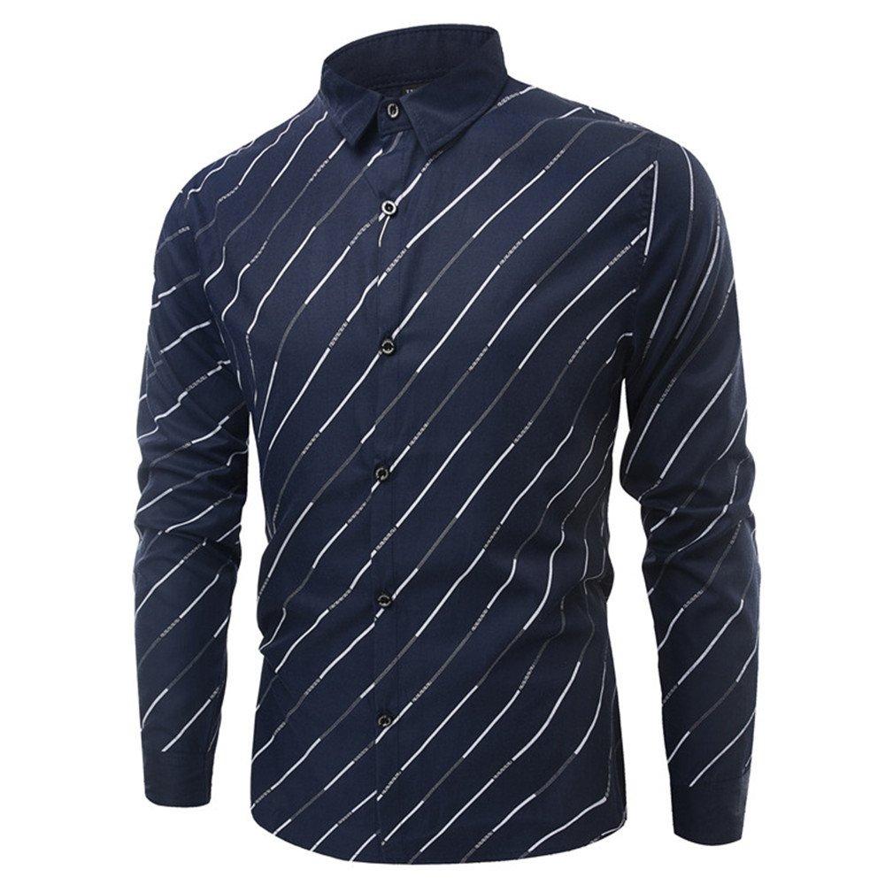 Langärmelige t - Shirt mit Langen ärmeln langärmliges Hemd,Royal Blau,XXXL