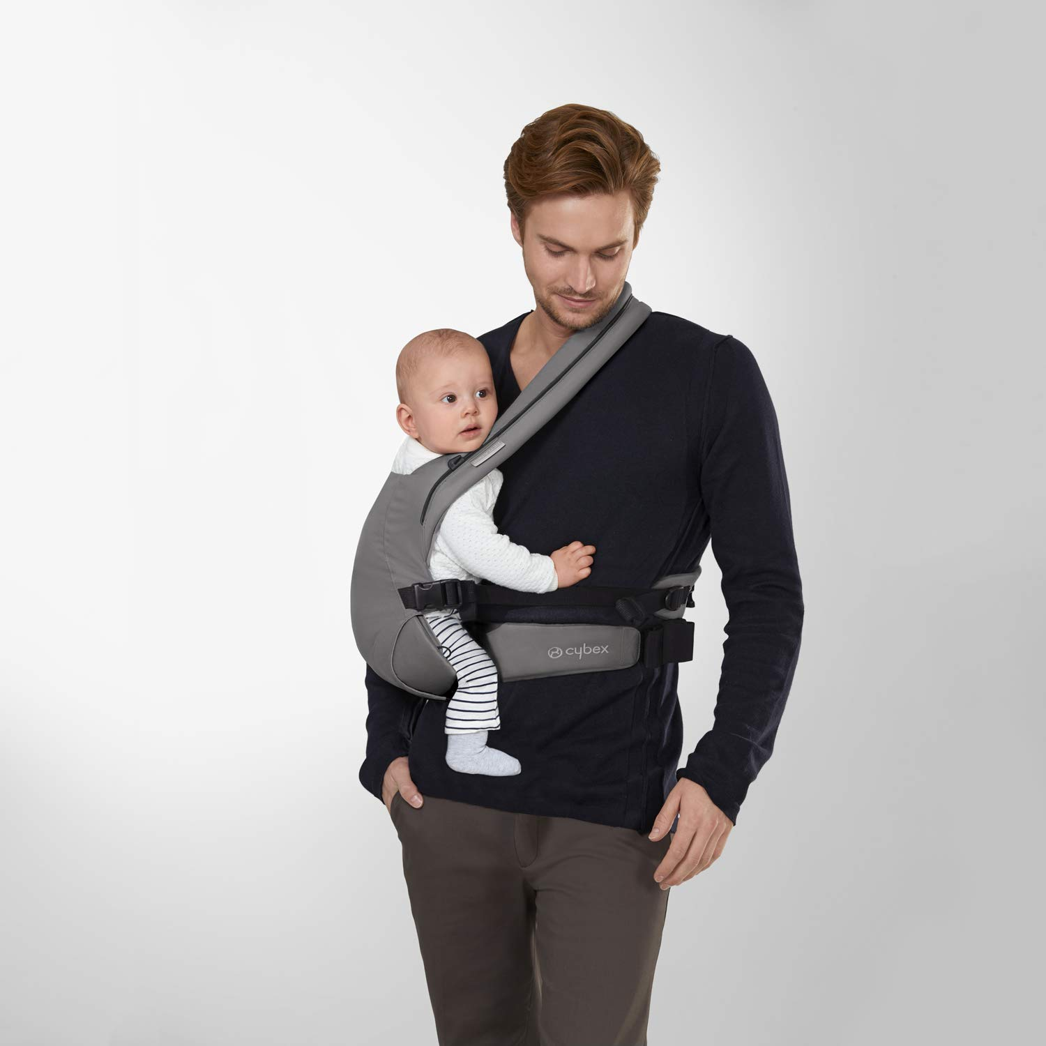 Denim Blue from Birth up to 2 Years CYBEX Gold Baby Carrier BEYLA.Twist Approx. 3,5-15kg
