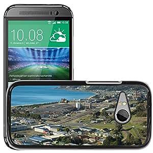 Hot Style Cell Phone PC Hard Case Cover // M00169823 Burnie Australia Sea Ocean Water // HTC One Mini 2 / M8 MINI / (Not Fits M8)