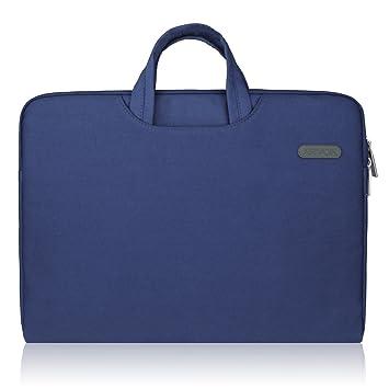 Arvok 17 Pulgadas Funda para Portátiles/Maletín Funda Bandolera para MacBook Pro Retina/MacBook Air/Protectora Funda Bolso para Acer/ASUS/ ...