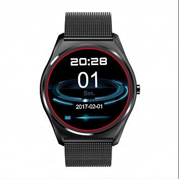 Smart Watch Mujer Reloj Inteligente con Notificación de WhatsApp ,Seguimiento de calorías,Monitorización del