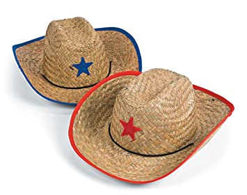 Straw Sheriff or Cowboy Party Hats for Kids  9a5c3ddf2a5