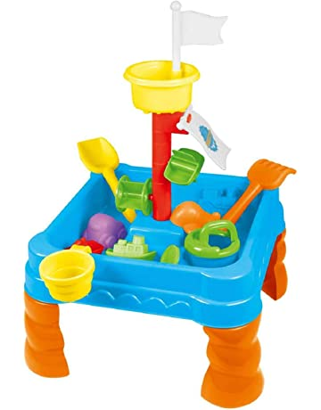 b972f0ee7e3c0 Boys Blue Sand and Water Play Table Kids Outdoor Garden Game   Sandpit Toys  Accessories
