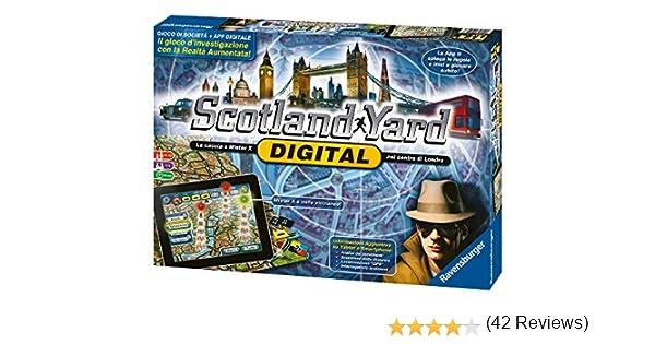 Ravensburger Scotland Yard Digital Niños y Adultos Deducción - Juego de Tablero (Deducción, Niños y Adultos, 60 min, Niño/niña, 10 año(s), 99 año(s)): Amazon.es: Juguetes y juegos