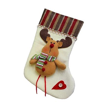 Decoración del Árbol de Navidad Calcetines de Navidad ...