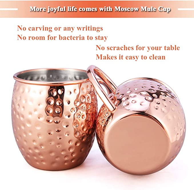 Featuring a Submarine Steam Punk Style Porthole Nautical Themed Moscow Mule Set Copper Moscow Mule Mug