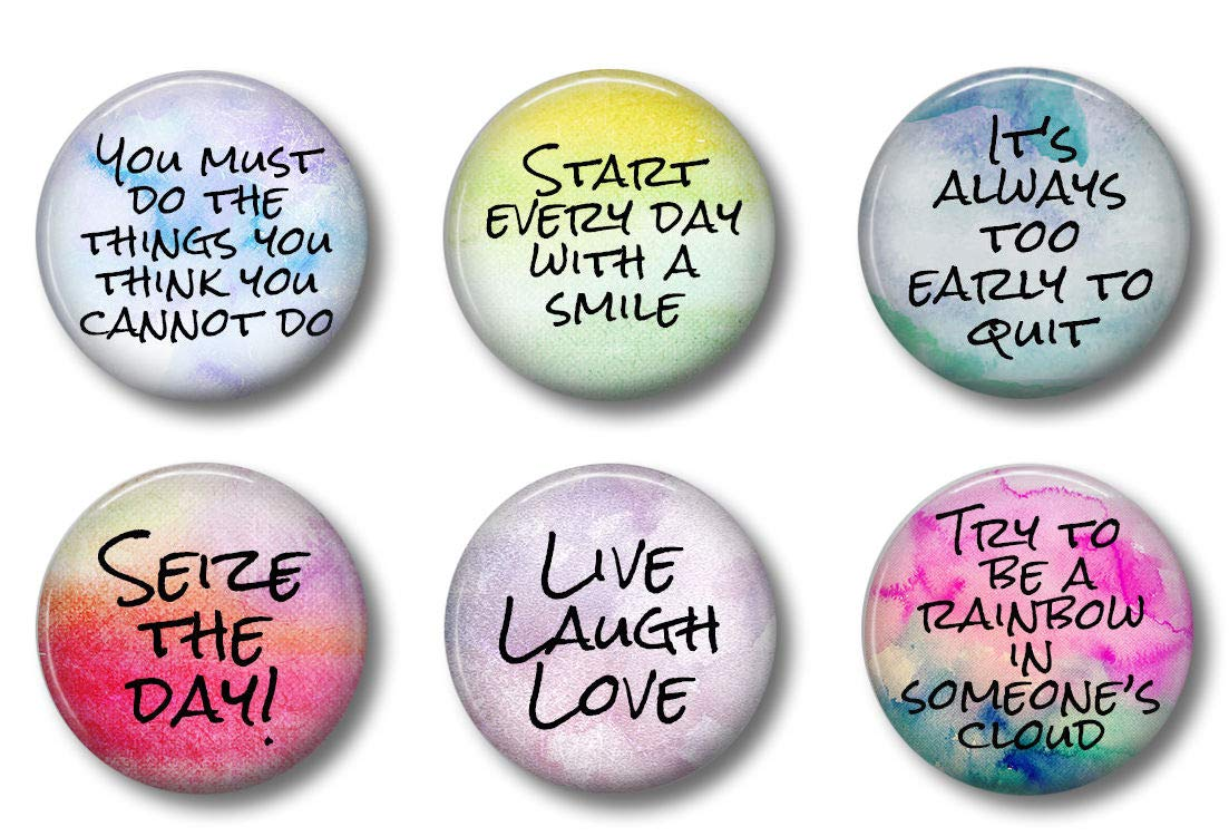 Cute Locker Magnets For Teens - Inspirational Motivational Quotes - Fun  School Supplies - Whiteboard Office or Fridge - Funny Magnet Gift Set ...