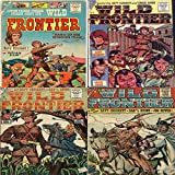 Wild Frontier. Issues 1, 2, 3 and 4. Davy Crockett, Jim Bowie and Daniel Boone. Features Saga of the Iriquois trail. Digital Sky Comic Compilations Wild West Western