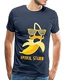 Spreadshirt Wankil Studio Banane Hipster T-shirt Premium Homme