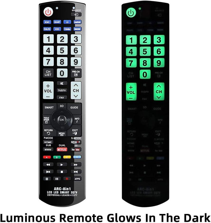 Panasonic LG Gvirtue Universal Learning Remote Control ARC-8in1 ...
