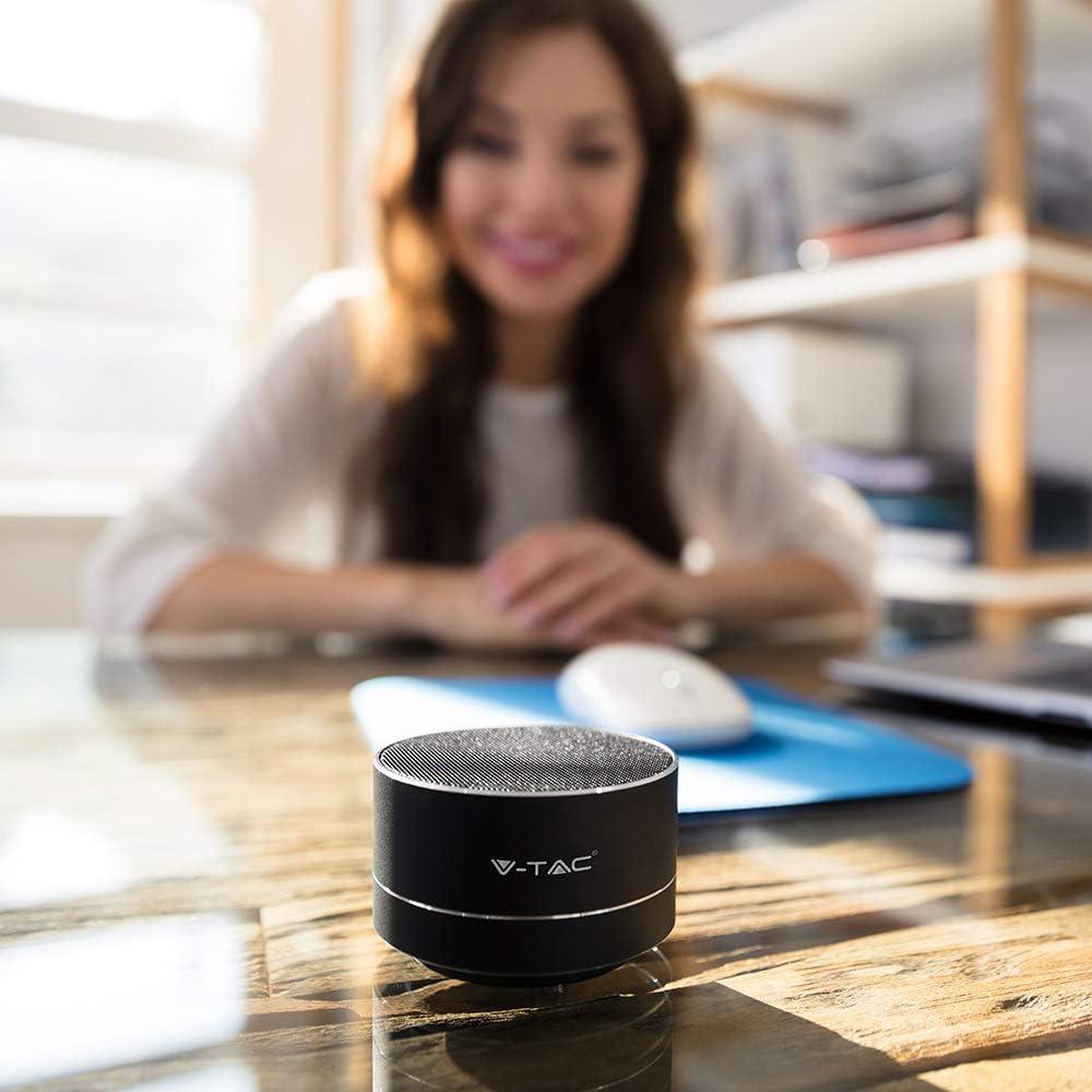 Mini Mikrofont Speaker Tragbar Mit Led Bluetooth Elektronik