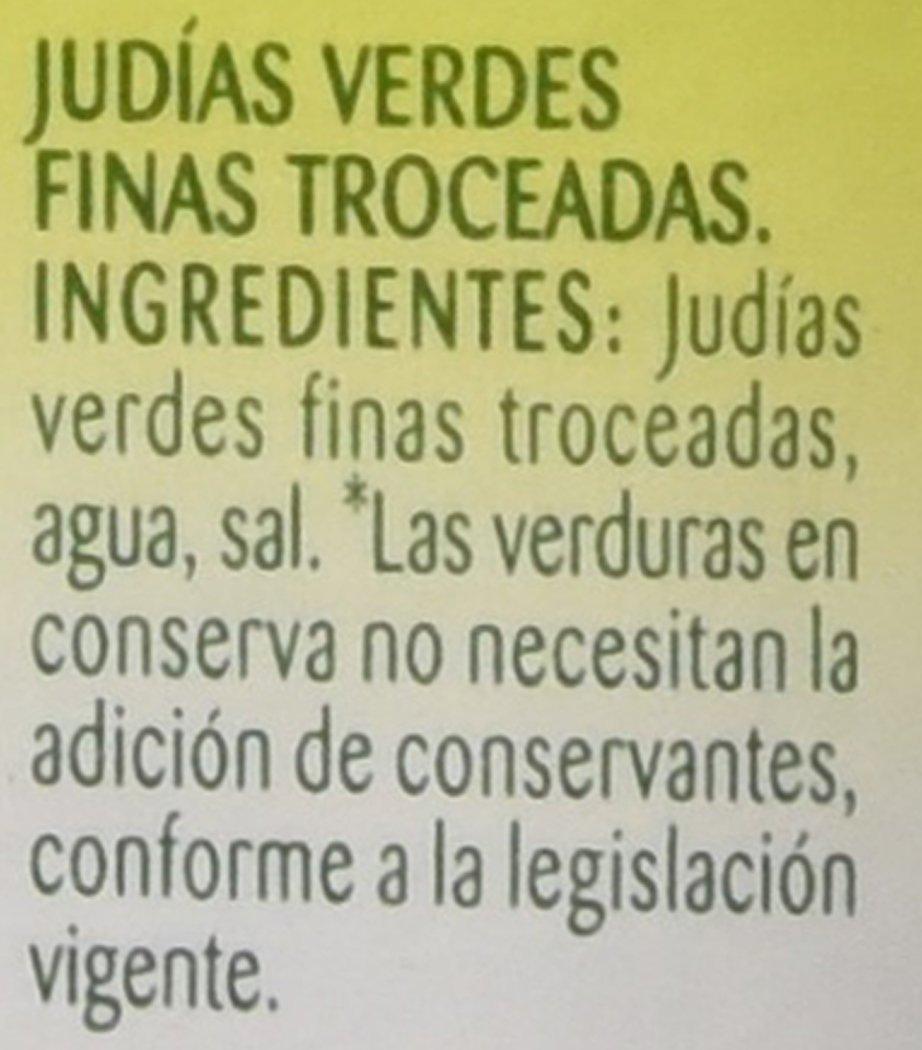 Bonduelle - Judías Verdes Finas Troceadas - 660 g: Amazon.es ...