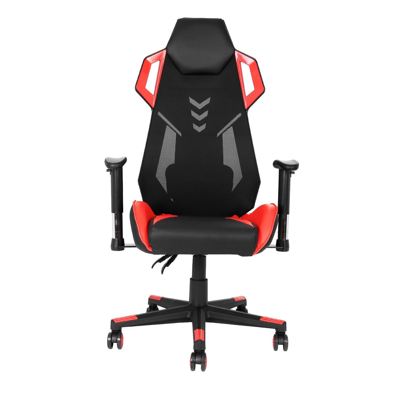 Modrine Ergonomischer Gaming Stuhl Computerstuhl Drehstuhl Bürostuhl höhenverstellbarer Schreibtischstuhl mit Armlehnen 170kg belastbar