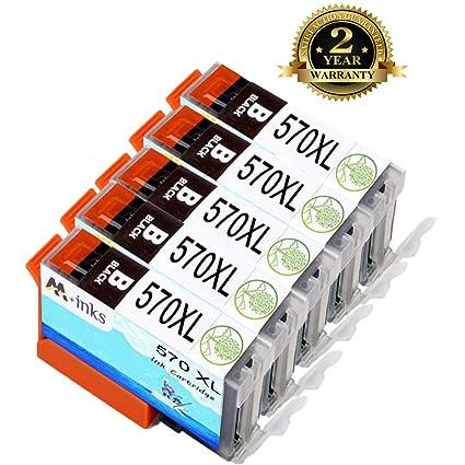 AA+Inks 5Big - Cartucho de Tinta para impresoras Canon PGI ...